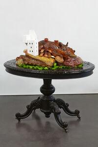 Gilles Barbier, 'Habiter la viande (porcelet)', 2013