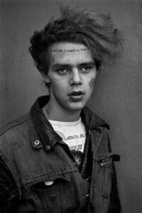 Derek Ridgers, 'Tuinol Barry, Kings Road, London', 1983