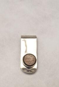 Gillian Carrara, 'Silver & Calf Horn Money Clip', 2012