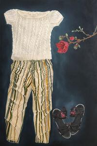 Dalia Atteya, '2 6 8 with Red Magnolias', 2020