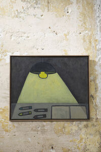 William Wright, 'Tabletop with Lamp', 2018-2020