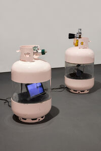 Julia Scher, 'American Tanks', 2001