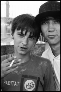Ed Templeton, 'Teen Smokers, St. Petersburg, Russia ', 2007