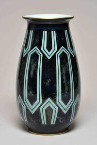 Sèvres Porcelain Manufactory, 'Aubert 2 Vase (decor of Albert Martine  95.30 01-2)', 1930