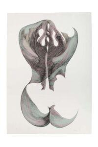 Giacomo Porzano, 'Nude from the Back - Silhouette VII', 1972