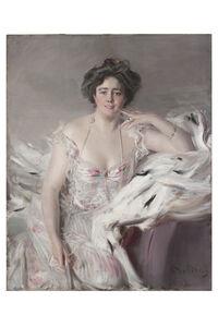Giovanni Boldini, 'Portrait of Lady Nanne Schrader (Née Wiborg)', 1903