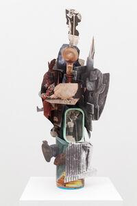 Geoffrey Farmer, 'Halftone Head-Holes with Hubristic Helmets', 2013