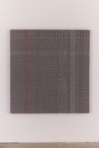 Heather Cook, 'c(13) and White(14) 8/4 Cotton 15 EPI and Painted Warp #4,', 2014