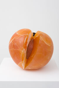 Nevine Mahmoud, 'Peach with Erotic Inside', 2017
