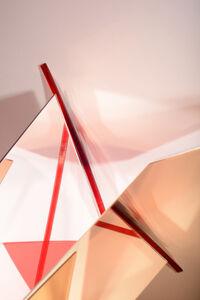 Lydia Wegner, 'Red Mirror Cut', 2017