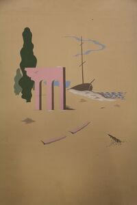 Jean Boris Lacroix, 'Original Watercolor, by Boris Lacroix, France, Art Déco', 1930-1939