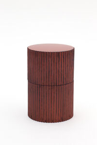 Jihei Murase, 'Negoro Stripe Tea Caddy', 2019