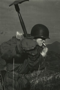 Dave Heath, 'Howard Crawford', ca. 1953-1954