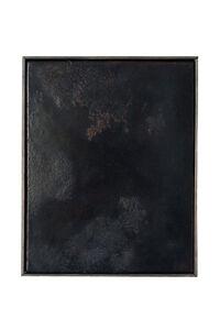Anneliese Schrenk, 'Ohne Titel (kleine Malerei, schwarz mit viel subtiler Farbe) '