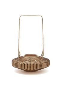 Tanabe Chikuunasai IV, 'Arrow bamboo Peony basket 20 0399', 2020