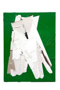 Martin Wehmer, 'White Glove on Green', 2019