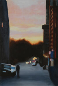 Jonathan Gleed, 'Her Mood On Morton Avenue', 2019