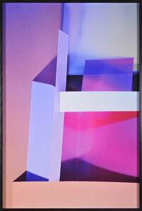 Lydia Wegner, 'Blue Cross', 2016