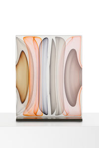 Jamie Harris, 'Infusion Block in Opal White, Amber, Brown and Grey', 2017