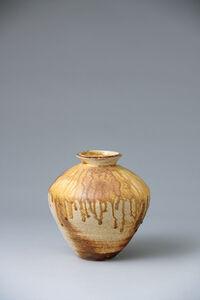Ken Matsuzaki, 'Vase, yohen natural ash glaze', 2020
