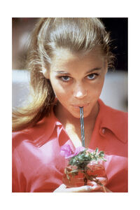Willy Rizzo, 'Jane Fonda with Straw, Beverly Hills, USA, 1963 ', 1963
