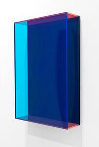 Regine Schumann, 'colormirror dark blue', 2016