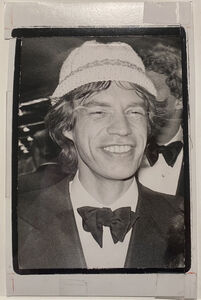 Andy Warhol, 'Mick Jagger in Hat', ca. 1985