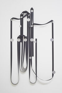 Alexandre Canonico, 'Black strap and washers (25m, 9S, 7L),', 2020