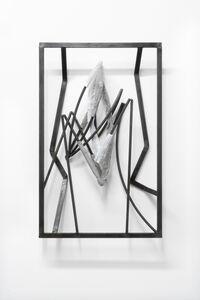 Indrikis Gelzis, 'Opposed spoons', 2018