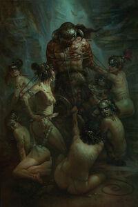 Patrick Jones, 'Conan the Conquered', 2014