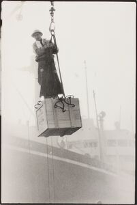 Kazuo Kitai, 'Crane, Kobe (Kobe Dockers Series)', 1965