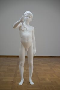 Charles Ray, 'Boy with Frog', 2008