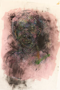 Vusi Beauchamp, 'Lady in Pink', 2020