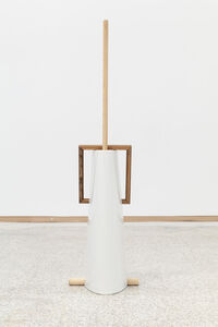 Leyden Rodriguez-Casanova, 'Ceramic, Mop, and Frame', 2019