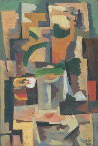 Miguel Ángel Pareja, 'Composición vibracionista', 1946