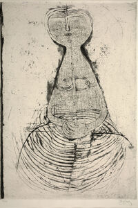 Johnny Friedlaender, 'Sesated Woman (Femme Assise)', 1956