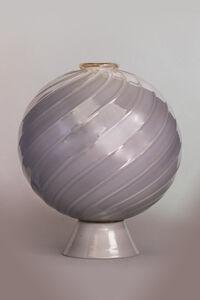 Flavio Poli, 'Seguso Vetri d'Arte, Incamiciato Vase', 1935