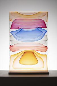 Jamie Harris, 'Infusion Block in Amber, Ruby, Blue and Orange', 2019