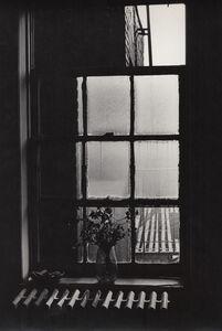 Lilo Raymond, 'Flower in Vase in Front of Window/Heater ', 1975