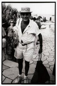 Jean Pigozzi, 'Helmut Newton', 1987