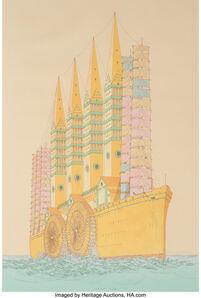 William Richard Crutchfield, 'Third City of Troy', 1972