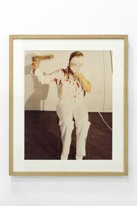 Gina Pane, 'Moment de l'action mélancolique 2 x 2 x 2, Naples', 1974