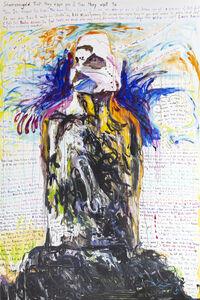 Elke Krystufek, 'Moai 3 (Heaven)', 2006