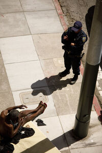 David Dines, 'SFPD, 3rd Floor', 2017