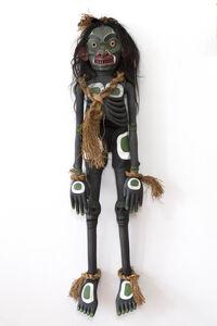 Beau Dick, 'Winalagalis (War Spirit) Puppet', 2015