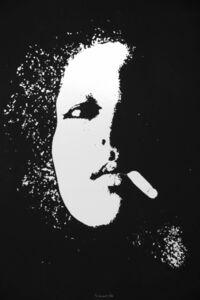 Giacomo Porzano, 'Smoker in Black', 1974