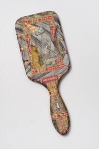 Felipe Jesus Consalvos, 'Mixed media collage on mirror', 1920-1960