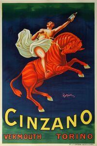 Leonetto Cappiello, 'Cinzano Vermouth', 1910