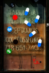 David Stock, 'Farmacia, Jackson Heights', 2016
