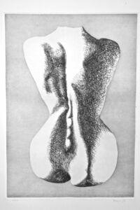 Giacomo Porzano, 'Nude from the Back', 1972